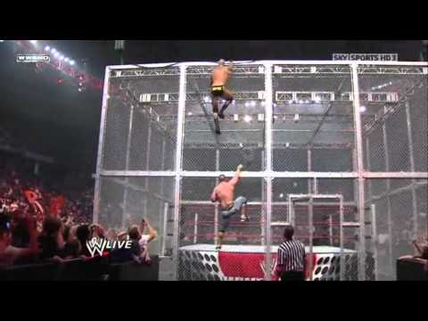 John Cena vs Randy Orton - Gauntlet Match Hell in a Cell