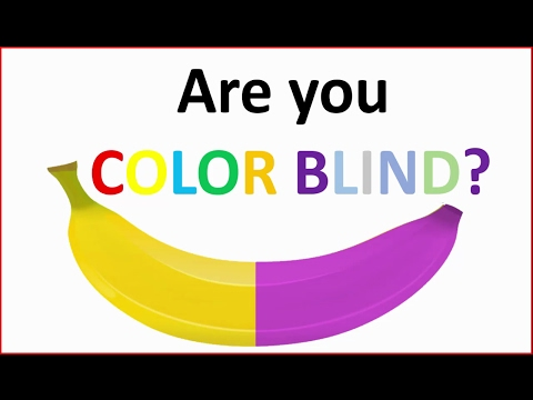 Are you colorblind? - How good are your eyes - Brain test 2017
