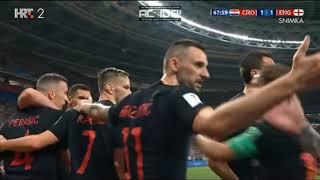 Hrvatska vs Engleska Svjetsko prvenstvo 2018