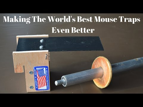 How To Make The World s Best Mouse Traps Even Better. Rolling Log & Walk The Plank Mouse Traps