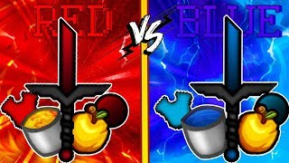 Minecraft RED VS BLUE TEXTURE PACK | EL MEJOR TEXTURE PACK [1.7][1.8]-  [UHC/PvP Pack]