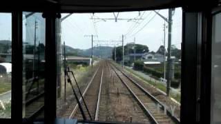 JR東海313系【新快速 豊橋】前面展望 蒲郡-豊橋