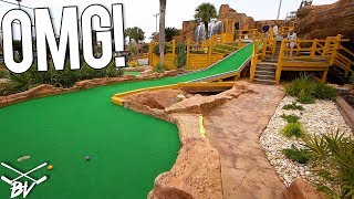 THAT IS YOUR BEST MINI GOLF HOLE IN ONE EVER!!!