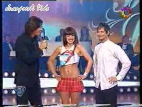 Pampita Baile del Caño Super HOT en Bailando Por Un Sueño ShowMatch