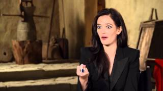 300  Rise of an Empire Interview Eva Green 2014  Action Movie HD