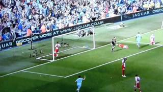 Aguero goal vs QPR - Martin Tyler orgasm [HD]