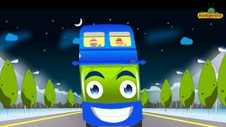 The Wheels On The Bus Go Round And Round - Popular Nursery Rhymes for Children I Fun Kids Songs