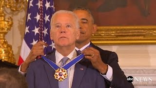 Obama Surprises Biden With Medal of Freedom | ABC News