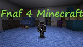 Five Nights At Freddy's 4 (Minecraft Version)