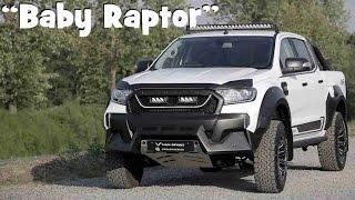 New Ford Ranger M-Sport Looks Like A Baby Raptor