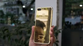 Tinhte.vn - Mở hộp iPhone 7 Plus vàng 24K của Gold Elite Paris
