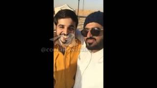 تغطية زيارة سعد القحطاني لمخيم شباب زد رصيدك 5