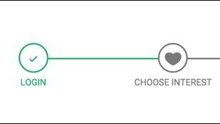 Step progress bar Tutorial, CSS.