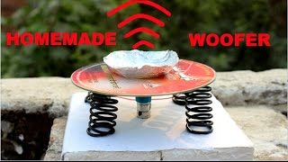 How to Make Speaker using CD at home