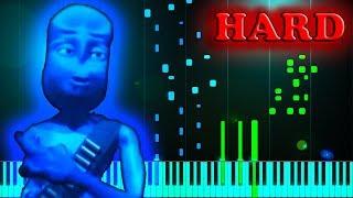 EIFFEL 65 - BLUE (DA BA DEE) - Piano Tutorial