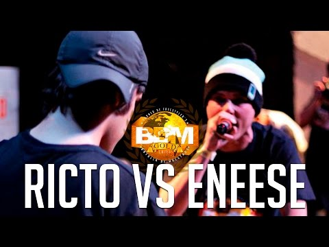 BDM Gold 2015 Semifinal Ricto vs Eneese