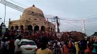 Indian celebrate birth of Hindu God Krishna live videos