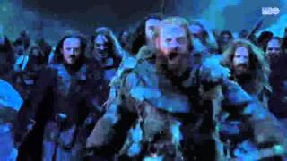 Game of Thrones Wildlings Storm castle black Season 6 Episode 2