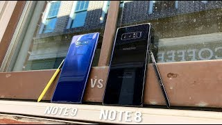 Galaxy Note 9 vs Note 8 FULL Comparison with Camera Test!