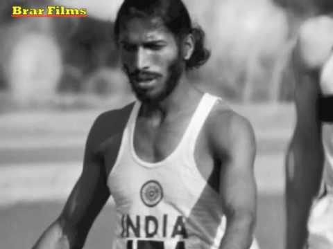 Milkha Singh-Still Running on a Dream.