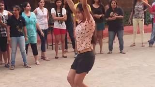 Odisha college girls dance
