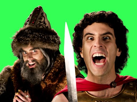 Alexander the Great vs. Ivan the Terrible ERB Behind the Scenes