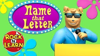 """Name That Letter"" from Letter Sounds by Rock 'N Learn"