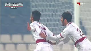 اهداف المباراة : المرخية 2 - 0 قطر دوري غازليغ تحت23سنة
