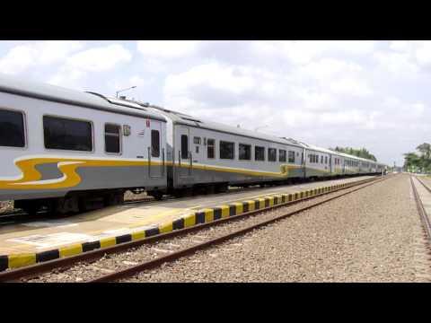 KA. 7 ARGO LAWU ngebut parah di Stasiun Patukan