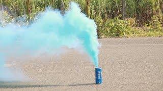 How to make colored Smoke  at home !! DIY Diwali Crackers !!