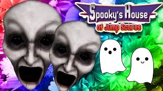 CUTEST SCARIEST GAME EVER! | Spooky's House of Jumpscares Part 1