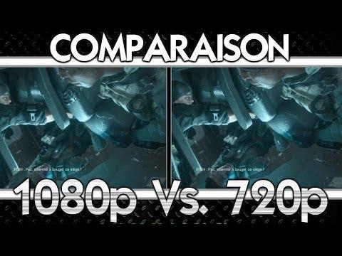 Battlefield 4 - 1080p vs. 720p