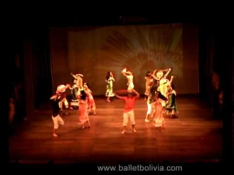 Ballet Folklorico de Bolivia Danzas del Oriente Boliviano