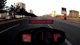 Suzuki GSR600 0-100 Acceleration