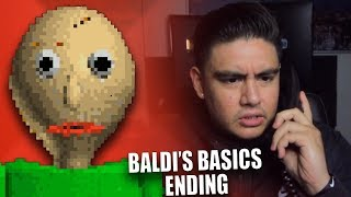 BALDI CALLED ME & LEFT A DISTURBING MESSAGE | Baldi