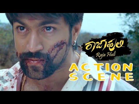 Rajahuli is back stabbed by his friends | Kannada Action Scenes | Rajahuli Kannada Movie
