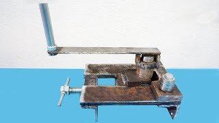 Homemade Roller Bender    Make A Metal Bender