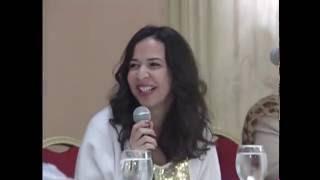 شاهد خفة دم ايمى سمير غانم فى اول تكريم لها بالاسكندرية بالنادى السورى