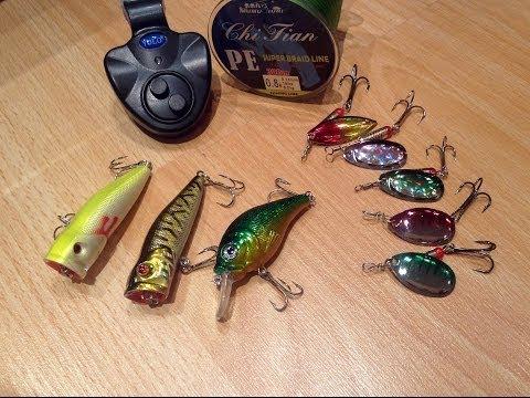 рыбалка на приманки с алиэкспресс видео