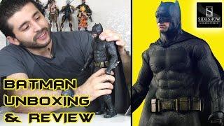 Batman vs Superman Batman Figure Unboxing & Review - Hot Toys Sideshow Collectible