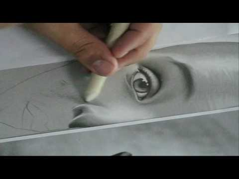 Desenho a lápis feito por Charles Laveso