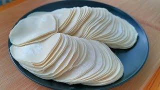 早餐別吃油條了,用2塊錢餃子皮一切一拉,10分鐘搞定,太香了! 【小穎美食】