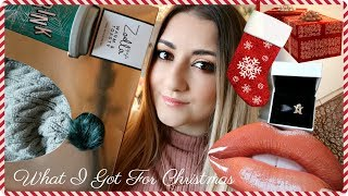 WHAT I GOT FOR CHRISTMAS 2017 / HAUL   MAC, HUDA BEAUTY, PANDORA