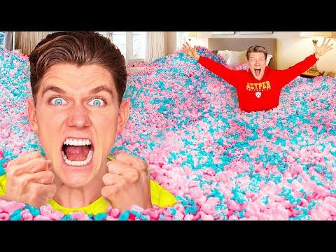 10 Funny Pranks 24 Hour Prank Wars How To Do Insane Pool Pranks VS The Best Candy Challenge