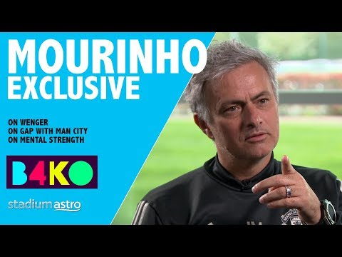 """Mourinho on Wenger: """"I have to admit I feel sorry"""" 