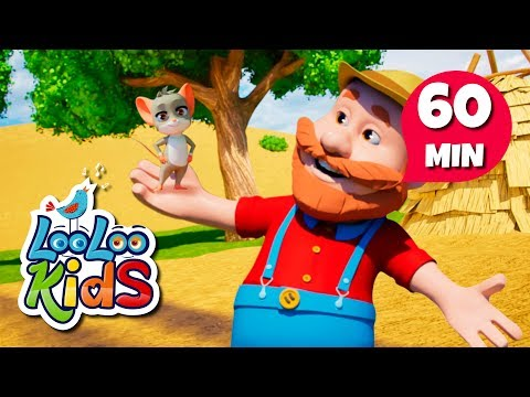 Xxx Mp4 The Farmer In The Field Educational Songs For Children LooLoo Kids 3gp Sex