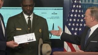 Trump Donates Salary to National Park Service