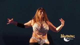 Aziza Cairo for Marhaba Rome Festival 2016!! Megansè