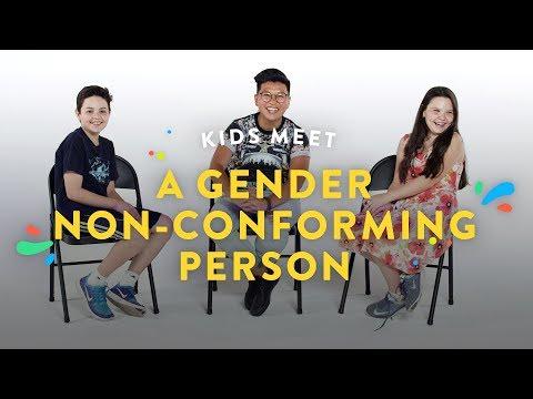 Kids Meet a Gender Non Conforming Person Kids Meet HiHo Kids