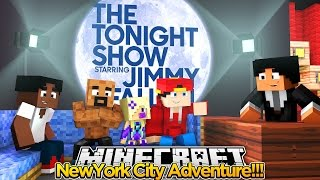 Minecraft Adventure - THE TONIGHT SHOW WITH JIMMY FALLON!!!